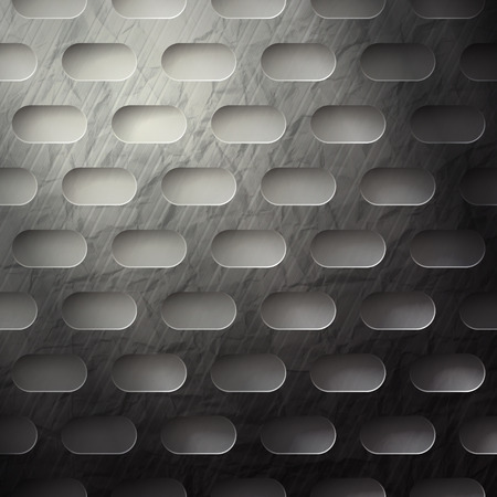 abstract metallic wallpaper with grunge surface Vector
