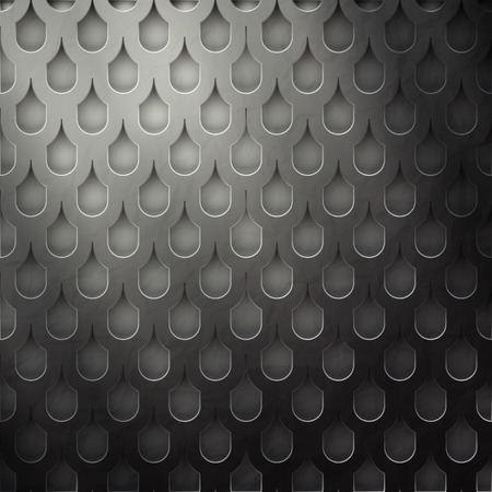 aperture grid: seamless pattern with modern grate surface  contemporary background Illustration