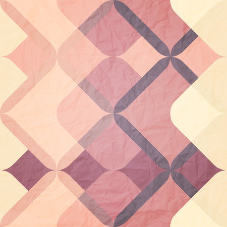 paperhanging: seamless pattern with colorful ornament and paper texture