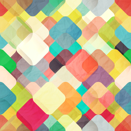 abstract fashion wallpaper with colorful geometric ornament