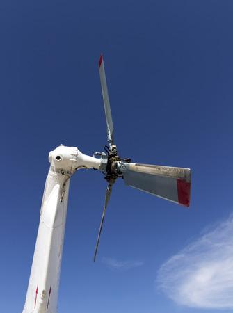 caudal: helicopter steering mechanism detail. civic copter rudder propeller