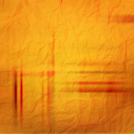 vector wallpaper: abstract orange background with shabby paper texture. vector wallpaper Illustration