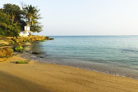 peaceful shore background.