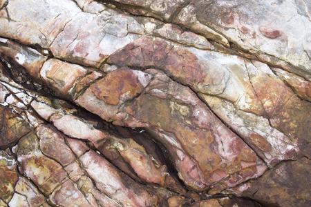 ferruginous: natural, old stone texture. abstract ferruginous background Stock Photo