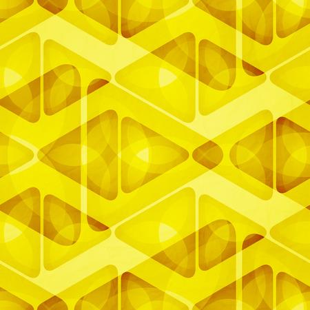 textura papel: resumen de antecedentes con tri�ngulos sin fisuras ornamento sobre la textura del papel. Dise�o del papel pintado del vector Vectores