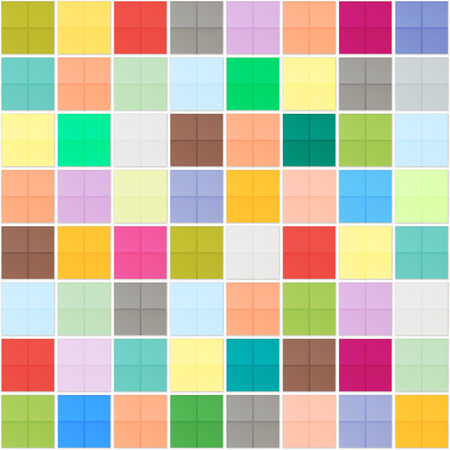 mosaic floor: colorful squares mosaic seamless pattern. vector ceramic floor, abstract background