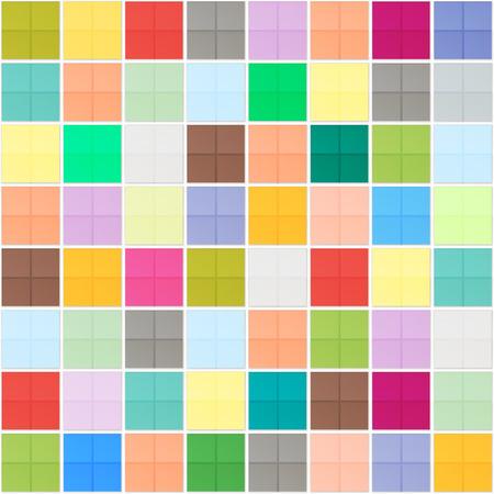 ceramic: cuadrados coloridos mosaicos patr�n. piso de cer�mica del vector, fondo abstracto