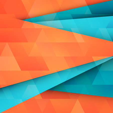 textura papel: abstract, geometric background with triangles on paper texture. vector wallpaper, banner design