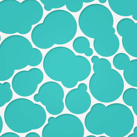 textura papel: abstract pattern with clouds shapes over blue paper texture. vector modern background design Vectores