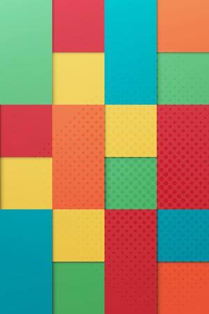 samenvatting, eigentijds, origami stijl, kleurrijke achtergrond. vector mode kleurenpalet banner template. minimaal, geometrische achtergrond ontwerp Vector Illustratie