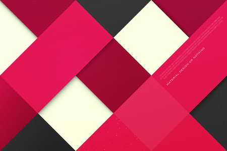 color therapy: abstract, colorful background with square frames. vector geometric, fashion wallpaper template. material design backdrop. origami style, vector, business cards layout