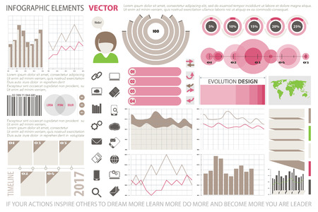 pie chart icon: info graphic elements, web technology icons. vector time line diagram, arrow symbol. world map, pie chart icon. financial statistic and marketing report presentation. business banner template