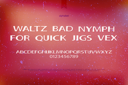 typesetting: modern alphabet letters and numbers. vector font type design. bold style lettering icons. contemporary, shiny typesetting. luminous typeface template