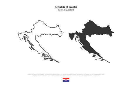 Jugoslawien Karte.Jugoslawien Karte Vektor Jugoslawien Flagge Vektor Isoliert