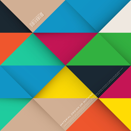 colorific: abstract, colorful background with triangular frames. vector geometric, fashion wallpaper template. material design colorific backdrop. origami style, bright, vector layout