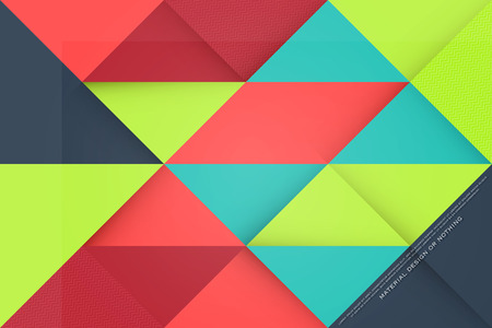 delta: abstract, colorful background with triangular frames. vector geometric, fashion wallpaper template. material design colorific backdrop. origami style, bright, vector business cards layout