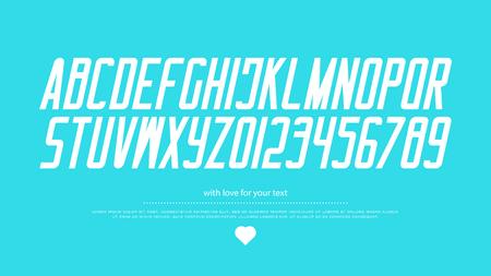 이탤릭체 스타일 알파벳 문자와 숫자. 벡터, 이탤릭체 글꼴 유형 디자인. 기울어 진 글자 기호. 세련되고 기울어 진 조판. 굵고 기울어 진 서체