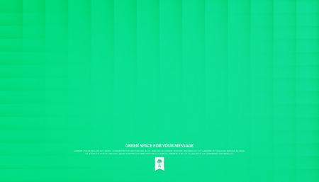 festive, paper texture. vector geometric background. abstract, decorative wallpaper design. bright, green backdrop Illustration