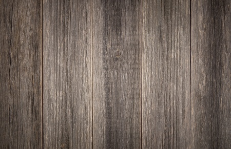Weathered grey background detail of vertical barn wood boards. photo