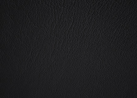 A textured detail from my son's black leather jacket. Stock Photo - 10285363