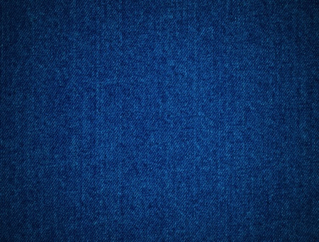 This is textured detail from a blue denim jacket.