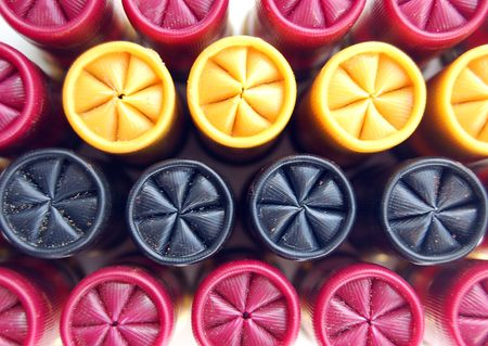 set of colored game cartridges for hanting Stock Photo - 2945910