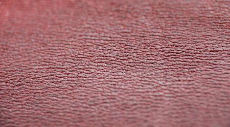 tooled leather: macro modello di costosi pelle rossa