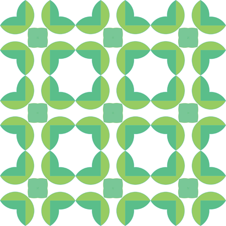 seamless pattern of green leaves Stock Vector - 3746657
