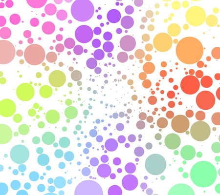 disco - colorful abstract background of circles Vector