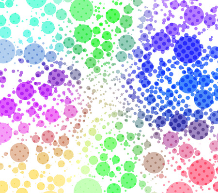 disco - colorful abstract background of circles Stock Vector - 4212622