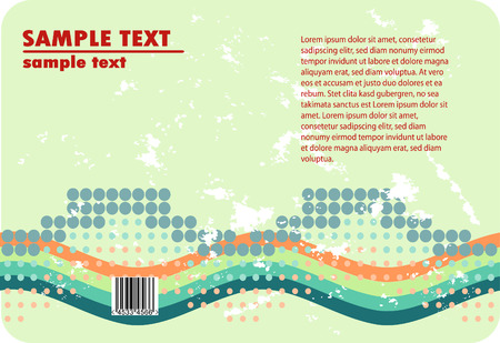 corporate colorful grunge halftone design Vector