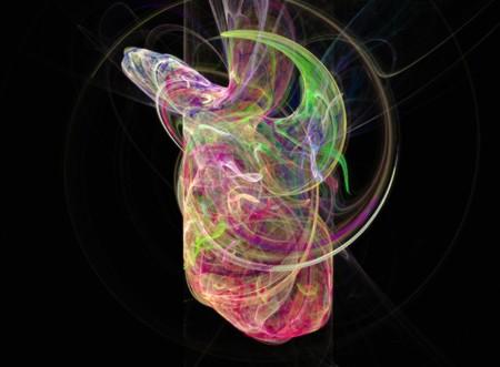 harmony idea: abstract fractal design