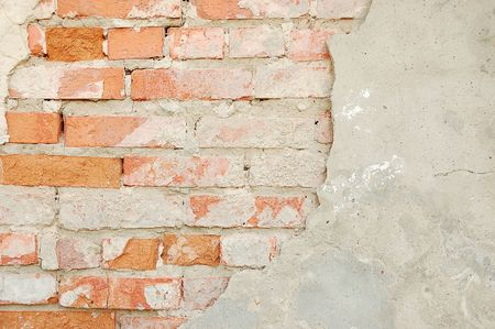 obsolete brick wall texture pattern photo