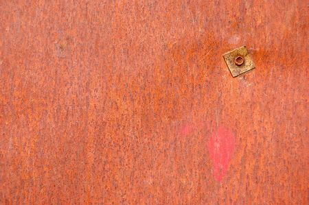 rusty steel sheet Stock Photo - 4759830