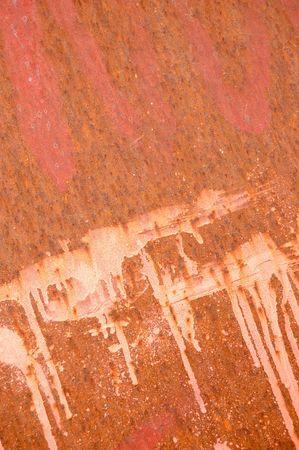 rusty steel sheet photo