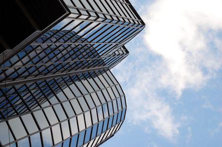 glass building office centre photo