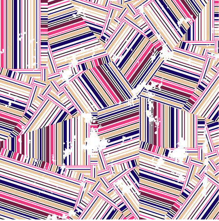 chaotic: chaotic grungy seamless background of colorful lines