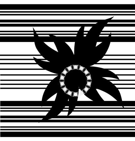 keltic: celtic like black and white design