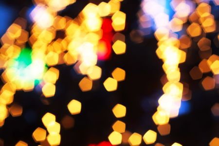 Abstract spots of lights Stock Photo - 6437203