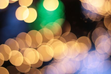 Abstract spots of lights photo
