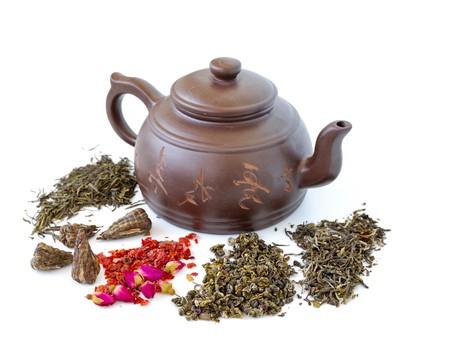classic chinese teapot photo