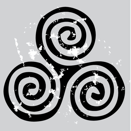 keltische muster: Keltische Spirale  Illustration