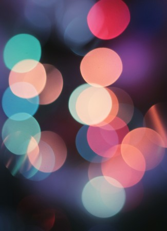 Abstract spots of lights Stock Photo - 8026451