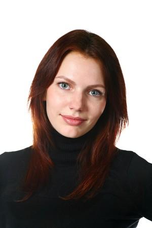 Beautiful Redhead Girl Portrait Stock Photo - 8155115