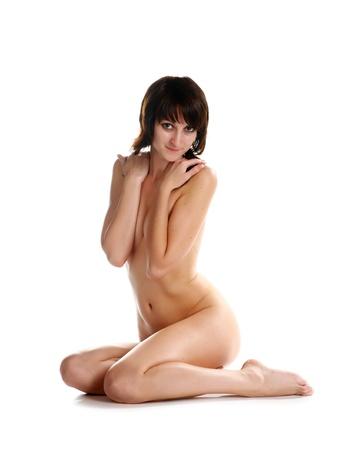 Sensual Girl In Studio photo