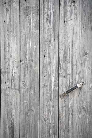 A background of weathered gray painted wood Stock Photo - 8444905
