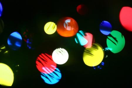 Blurred Lights. photo