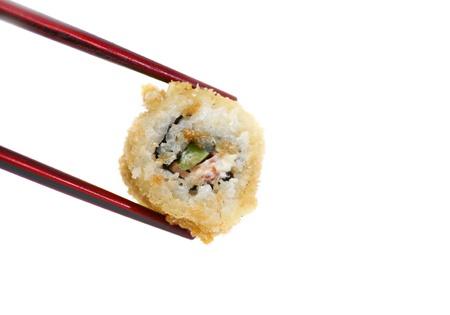 Holding Sushi photo