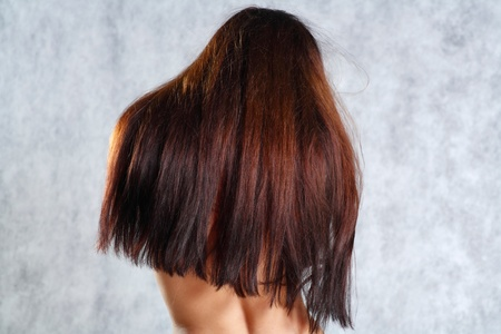 Hair Flick Stock Photo - 9399417