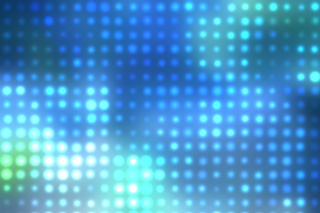 Dotted background of the colorful dots on the blured light Stock Photo - 10493823
